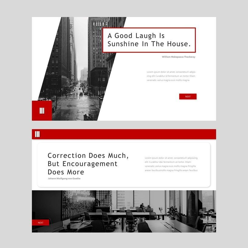 Redd - PowerPoint Presentation Template, Slide 11, 08078, Presentation Templates — PoweredTemplate.com