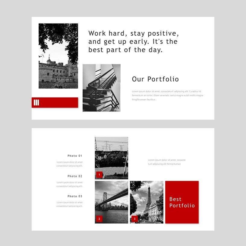 Redd - PowerPoint Presentation Template, Slide 7, 08078, Presentation Templates — PoweredTemplate.com