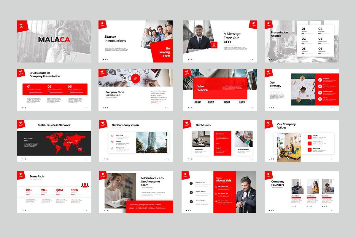 Malaca Google Slide Templates, Slide 2, 08079, Business Models — PoweredTemplate.com