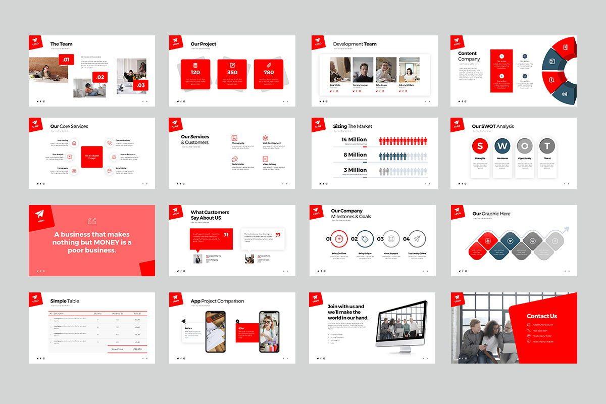 Malaca Google Slide Templates, Slide 3, 08079, Business Models — PoweredTemplate.com