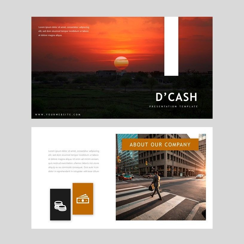 D'cash - PowerPoint Presentation Template, Slide 2, 08082, Presentation Templates — PoweredTemplate.com