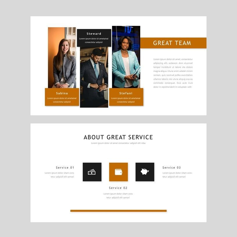 D'cash - PowerPoint Presentation Template, Slide 4, 08082, Presentation Templates — PoweredTemplate.com