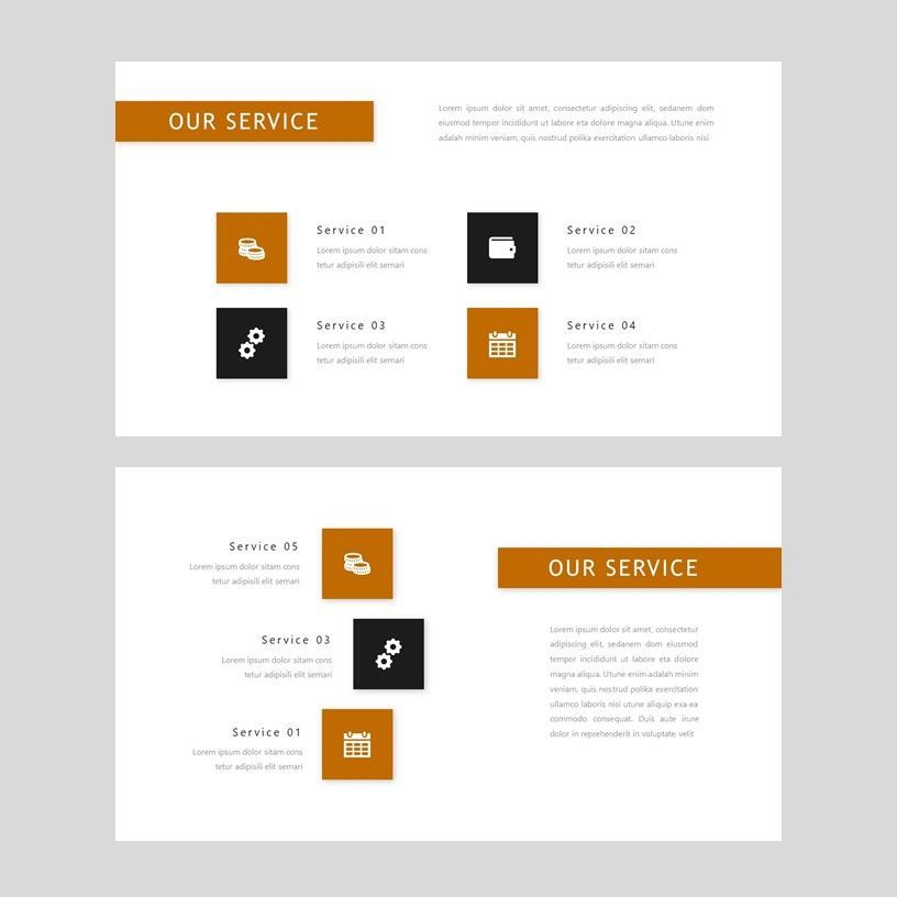 D'cash - PowerPoint Presentation Template, Slide 5, 08082, Presentation Templates — PoweredTemplate.com
