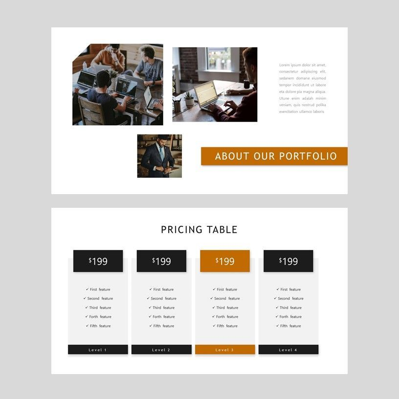 D'cash - PowerPoint Presentation Template, Slide 7, 08082, Presentation Templates — PoweredTemplate.com