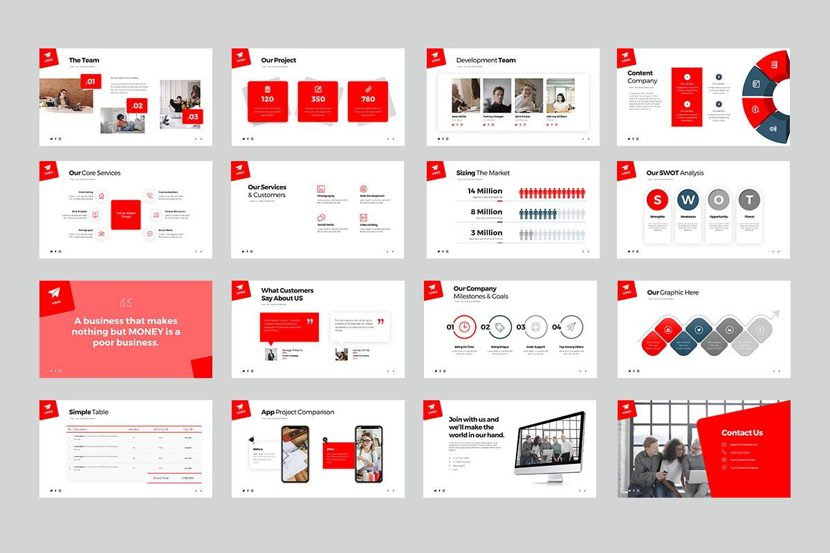 Malaca Keynote Templates, Slide 3, 08083, Business Models — PoweredTemplate.com
