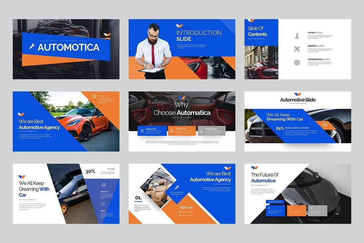 Automotica Powerpoint Presentation, Slide 2, 08085, Business Models — PoweredTemplate.com