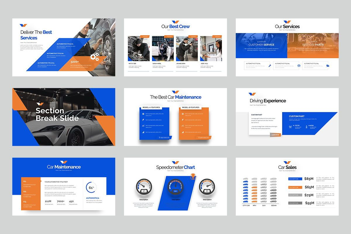 Automotica Powerpoint Presentation, Slide 4, 08085, Business Models — PoweredTemplate.com