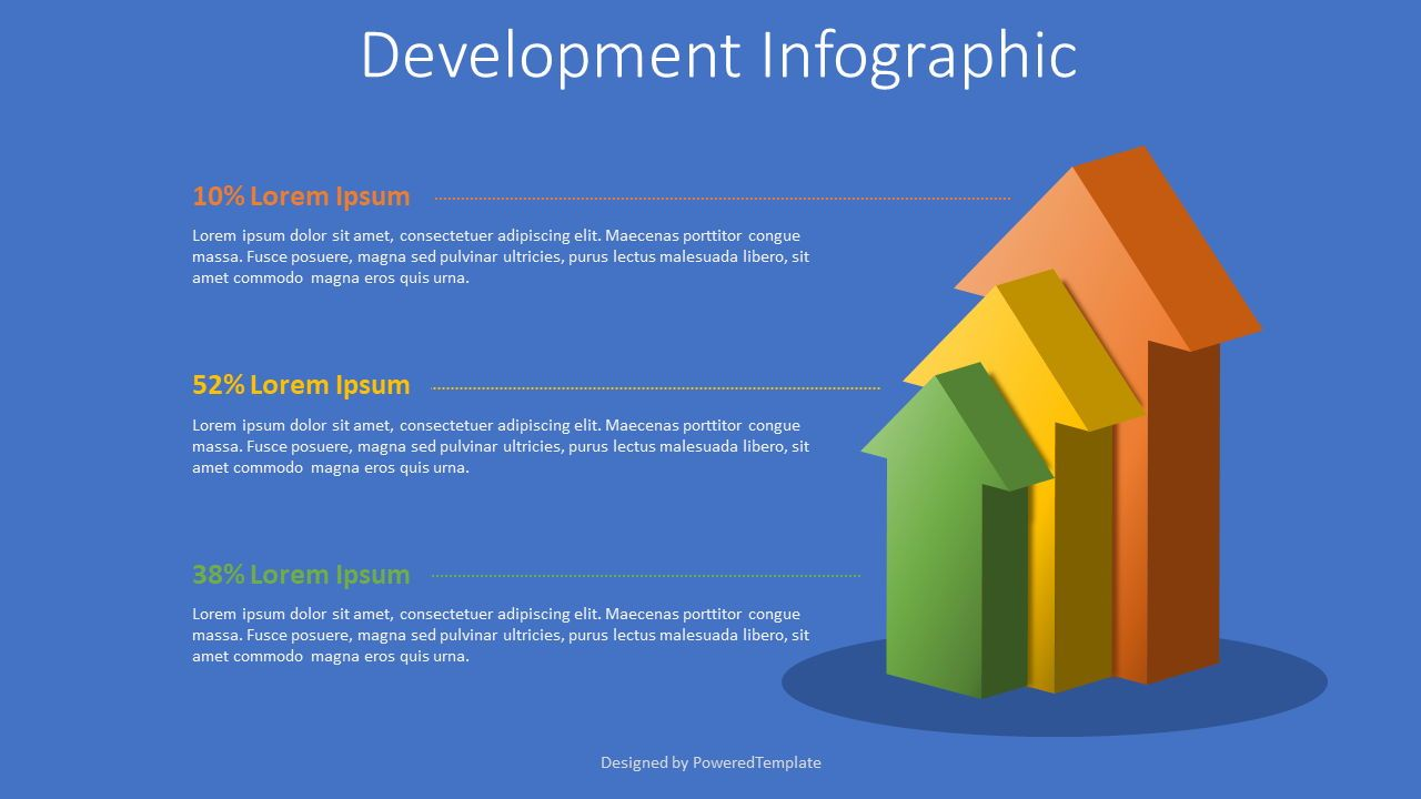 Growth and Development Concept Infographic, 08090, Infographics — PoweredTemplate.com