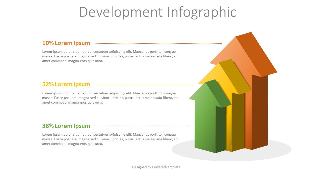 Growth and Development Concept Infographic, Slide 2, 08090, Infographics — PoweredTemplate.com