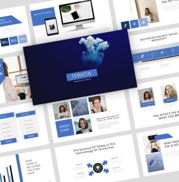 Presentation Templates: Tenicia - Google Slide Presentation Template #08093