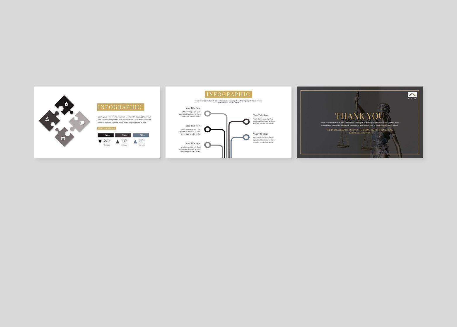 Avocat Lawyer Google Slides Template, Slide 6, 08095, Business Models — PoweredTemplate.com