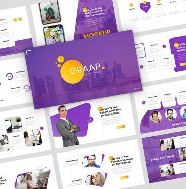Presentation Templates: Graap - PowerPoint Presentation Template #08100