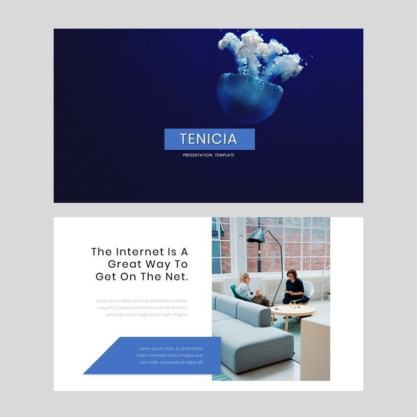 Tenicia - PowerPoint Presentation Template, Slide 2, 08102, Presentation Templates — PoweredTemplate.com
