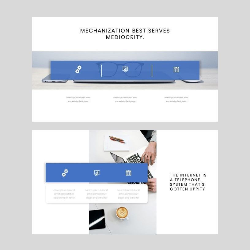 Tenicia - PowerPoint Presentation Template, Slide 5, 08102, Presentation Templates — PoweredTemplate.com