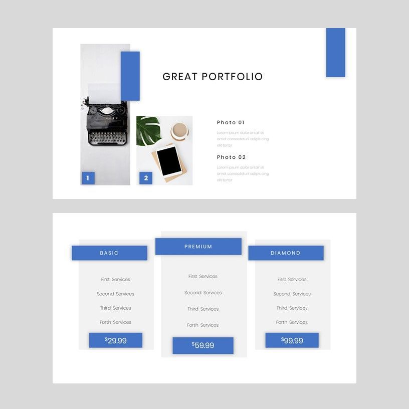 Tenicia - PowerPoint Presentation Template, Slide 8, 08102, Presentation Templates — PoweredTemplate.com