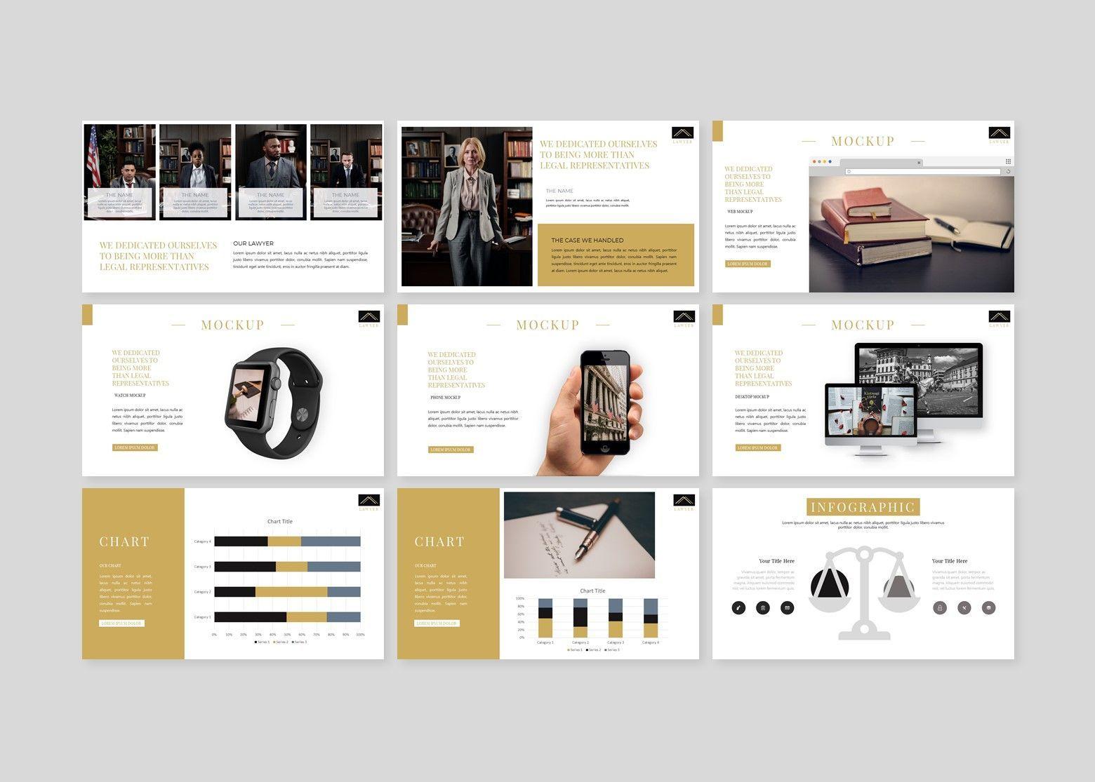Avocat Lawyer PowerPoint Template, Slide 5, 08106, Business Models — PoweredTemplate.com