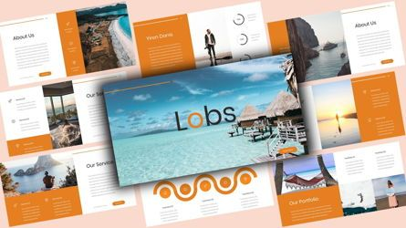 Business Models: Lobs Creative PowerPoint Template #08107