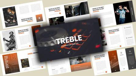 Business Models: Treble Music Google Slides Template #08108