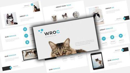 Business Models: Wrog A Pet Service Google Slides #08110