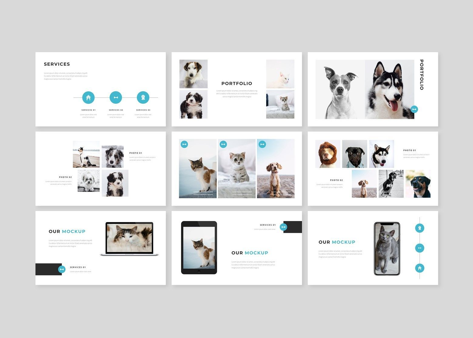 Wrog A Pet Service Google Slides, Slide 4, 08110, Business Models — PoweredTemplate.com