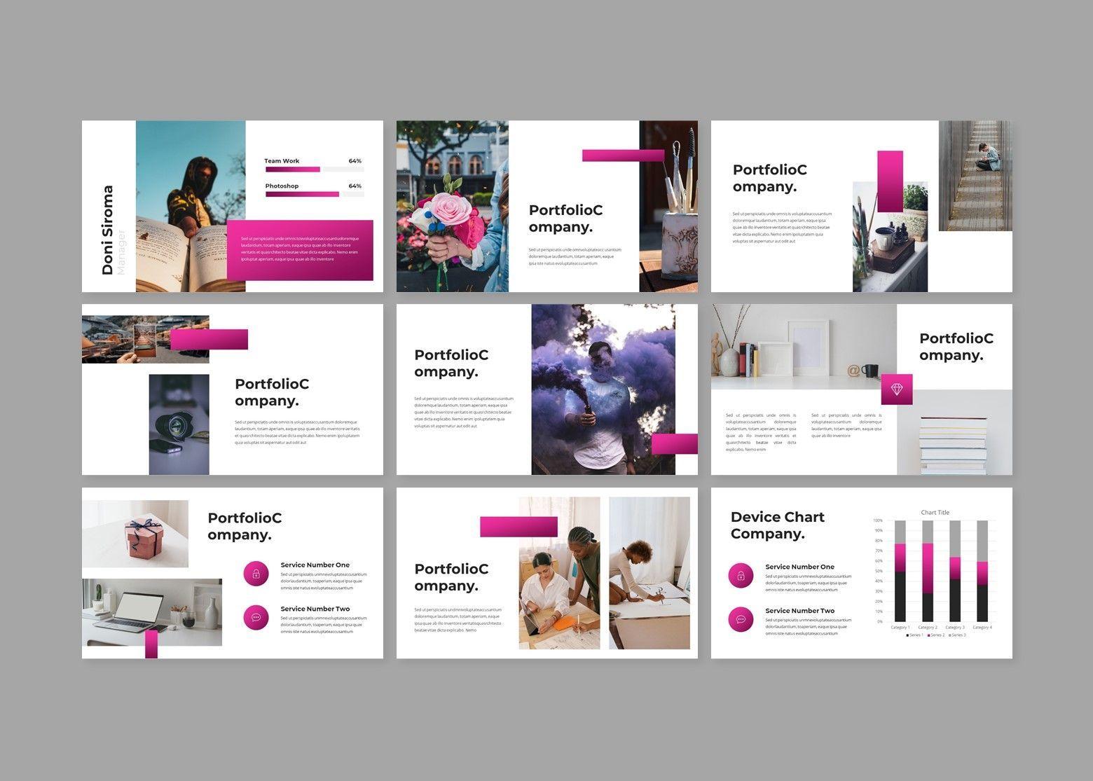 Crooz Creative Google Slides Template, Slide 3, 08112, Business Models — PoweredTemplate.com