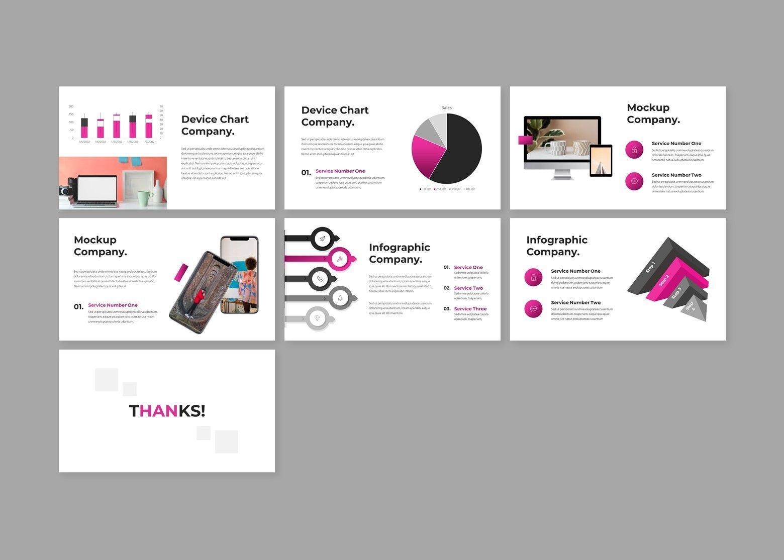 Crooz Creative Google Slides Template, Slide 4, 08112, Business Models — PoweredTemplate.com