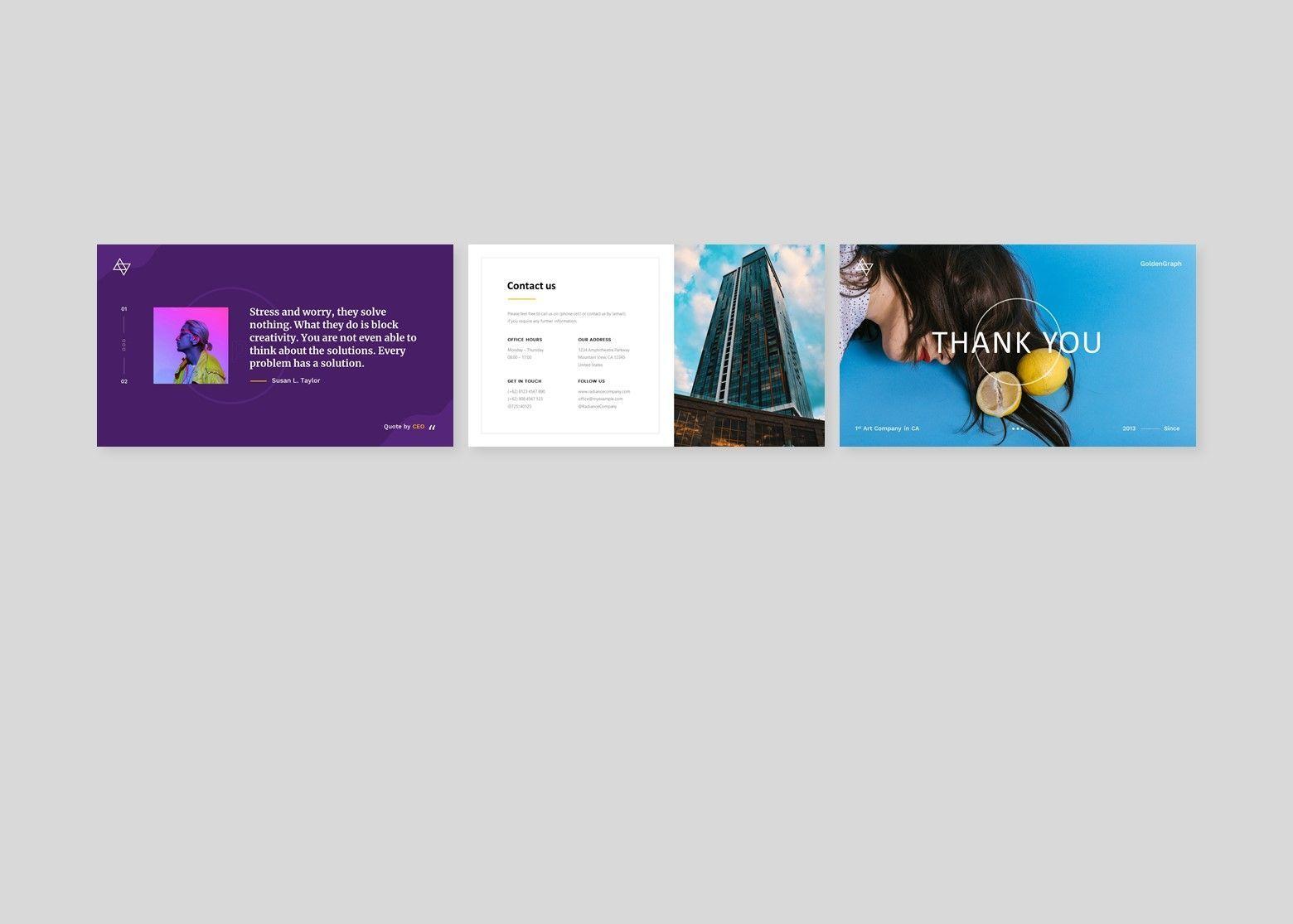 Glorian Creative Business PowerPoint Template, Slide 6, 08115, Business Models — PoweredTemplate.com