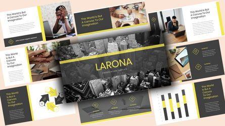Business Models: Larona Creative PowerPoint Template #08118