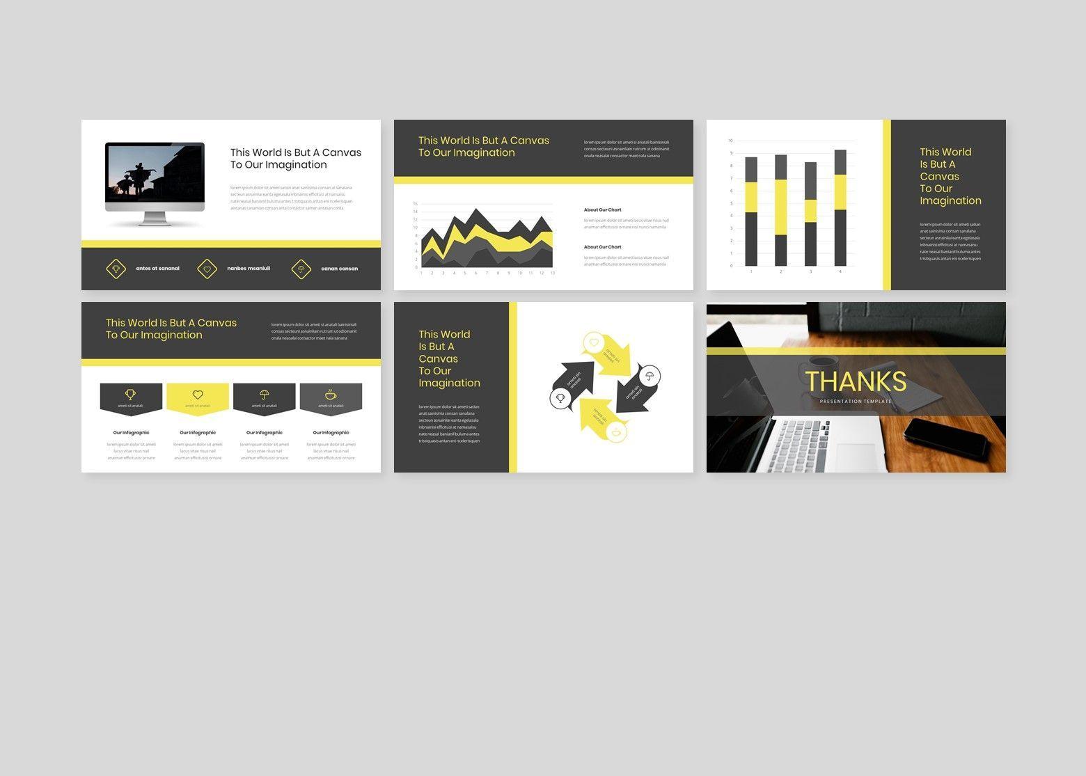 Larona Creative PowerPoint Template, Slide 5, 08118, Business Models — PoweredTemplate.com
