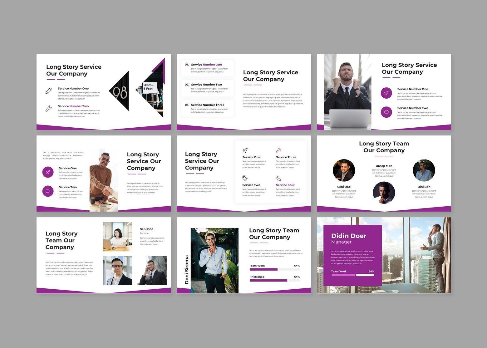 Woless Business PowerPoint Template, Slide 3, 08121, Business Models — PoweredTemplate.com
