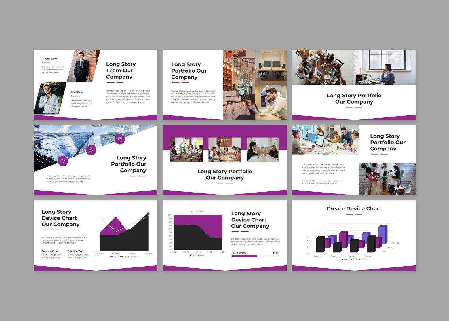 Woless Business PowerPoint Template, Slide 4, 08121, Business Models — PoweredTemplate.com
