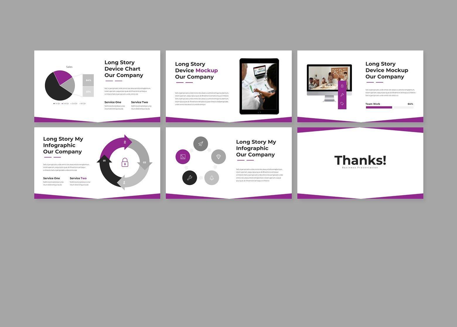 Woless Business PowerPoint Template, Slide 5, 08121, Business Models — PoweredTemplate.com