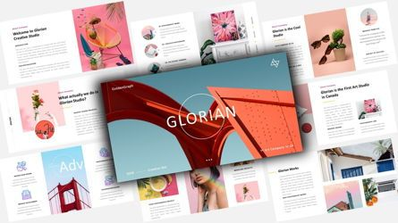 Business Models: Glorian Creative Business Keynote Template #08126