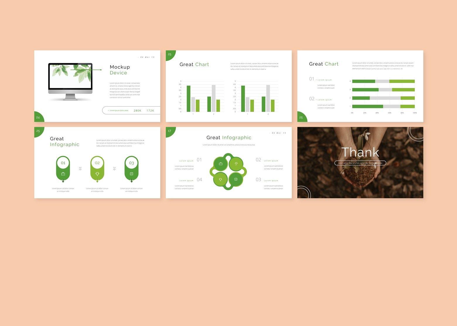 Growi Business Google Slides Template, Slide 5, 08127, Business Models — PoweredTemplate.com