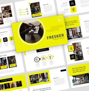 Presentation Templates: Fresker - PowerPoint Presentation Template #08134
