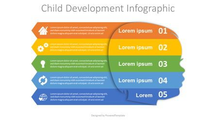 Education Charts and Diagrams: Child Development Infographic #08137