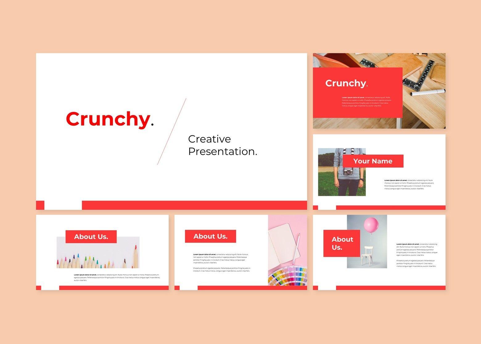 Crunchy Creative PowerPoint Template, Slide 2, 08141, Business Models — PoweredTemplate.com