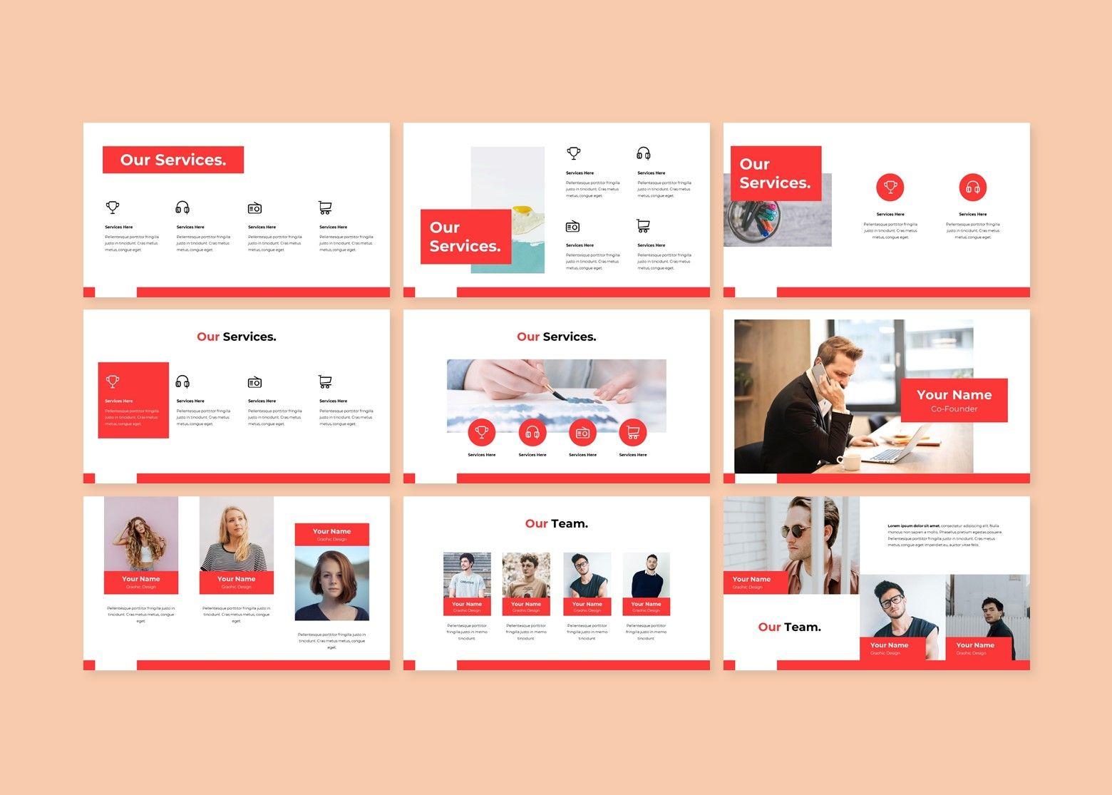 Crunchy Creative PowerPoint Template, Slide 3, 08141, Business Models — PoweredTemplate.com
