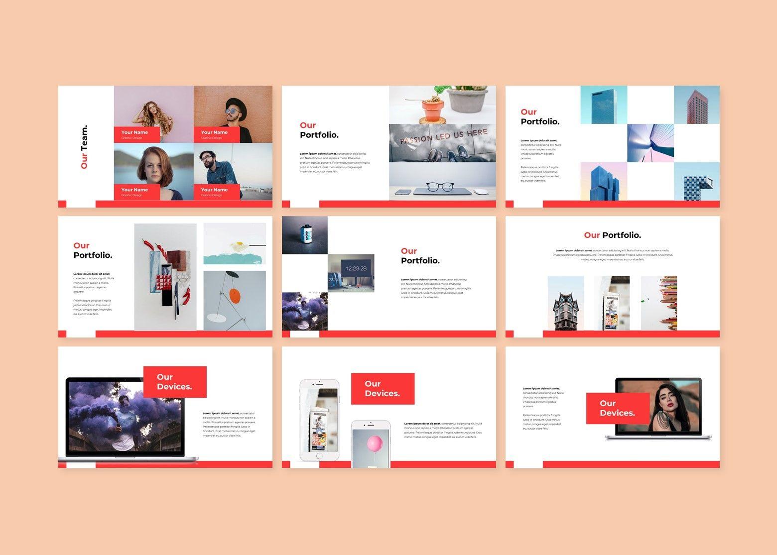 Crunchy Creative PowerPoint Template, Slide 4, 08141, Business Models — PoweredTemplate.com