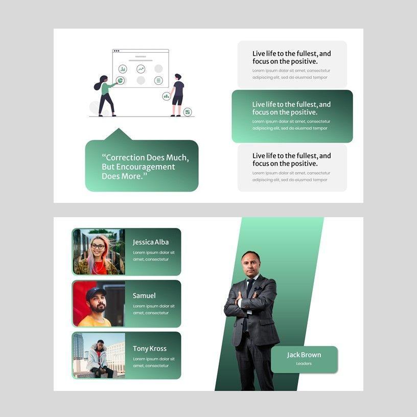 Hevy - Google Slide Presentation Template, Slide 4, 08147, Presentation Templates — PoweredTemplate.com