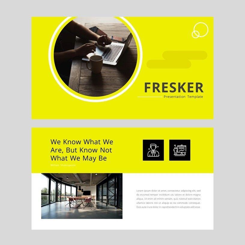 fresker - Google Slide Presentation Template, Slide 2, 08149, Presentation Templates — PoweredTemplate.com
