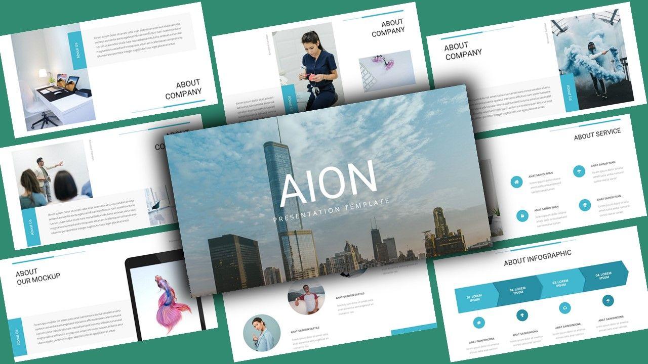 Aion Corporate Google Slides Template, 08151, Business Models — PoweredTemplate.com