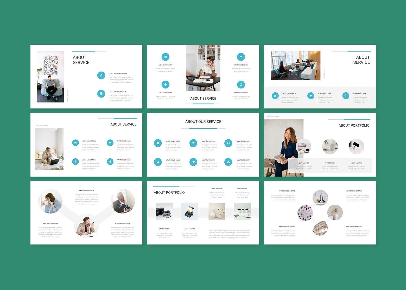 Aion Corporate Google Slides Template, Slide 3, 08151, Business Models — PoweredTemplate.com