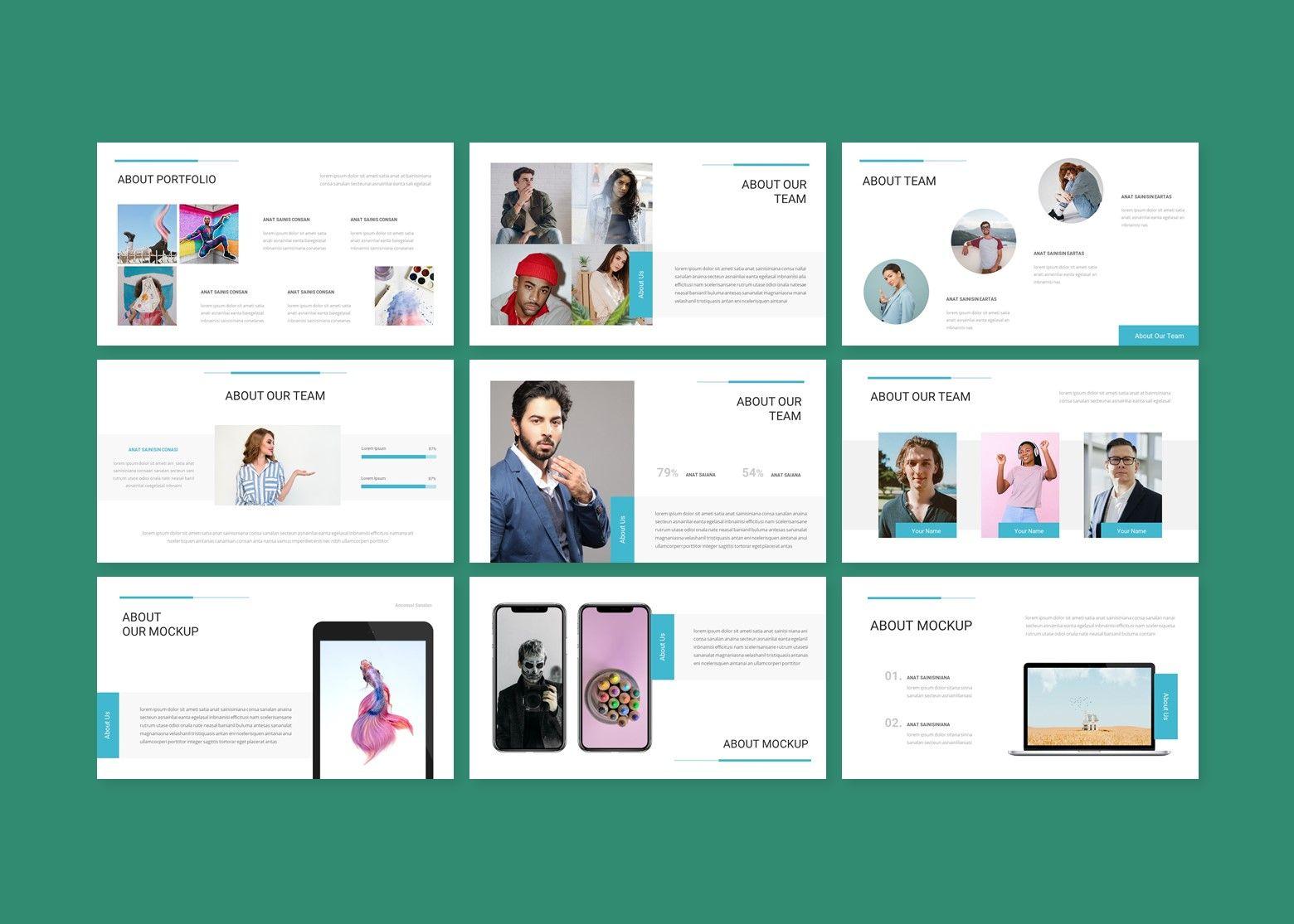 Aion Corporate Google Slides Template, Slide 4, 08151, Business Models — PoweredTemplate.com