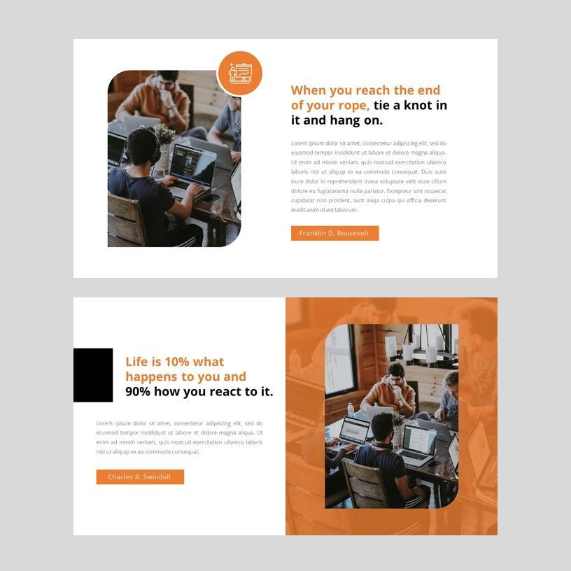 Oktan - Google Slide Presentation Template, Slide 3, 08152, Presentation Templates — PoweredTemplate.com