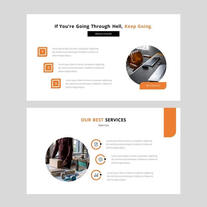 Oktan - Google Slide Presentation Template, Slide 6, 08152, Presentation Templates — PoweredTemplate.com