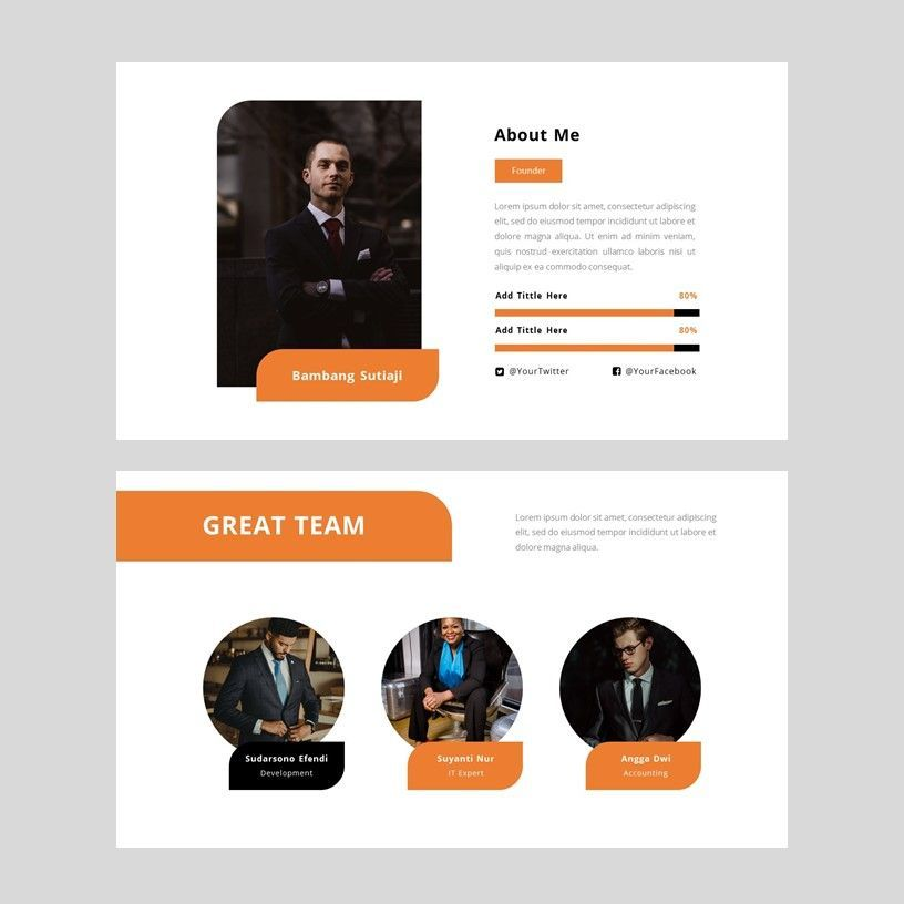 Oktan - Google Slide Presentation Template, Slide 8, 08152, Presentation Templates — PoweredTemplate.com