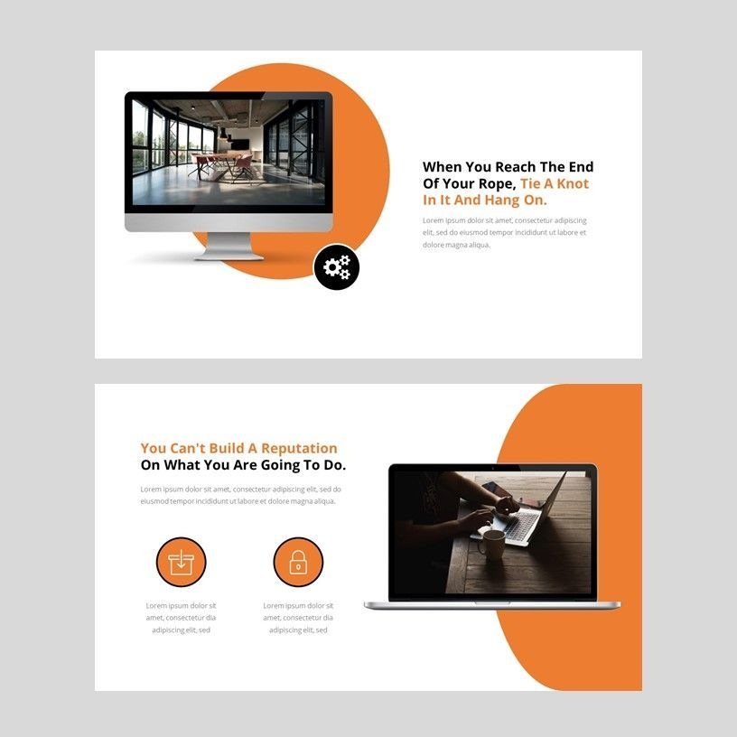 Oktan - Google Slide Presentation Template, Slide 9, 08152, Presentation Templates — PoweredTemplate.com