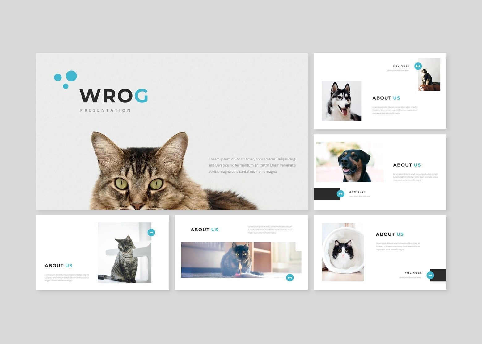 Wrog A Pet Service Keynote Presentation Template, Slide 2, 08155, Business Models — PoweredTemplate.com