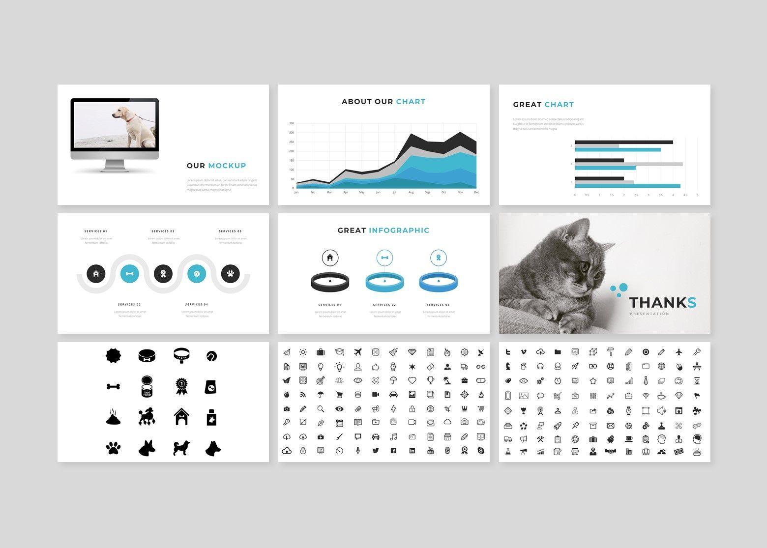 Wrog A Pet Service Keynote Presentation Template, Slide 5, 08155, Business Models — PoweredTemplate.com